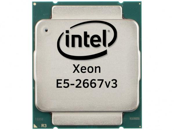 Intel Xeon E5-2667v3 Octa Core CPU 8x3.20GHz-20MB Cache FCLGA2011-3, SR203