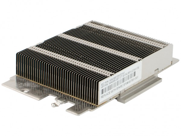 HPE CPU Heat Sink /DL360p-G8, Latch Type Higher End HE 135W and greater, 664006-001