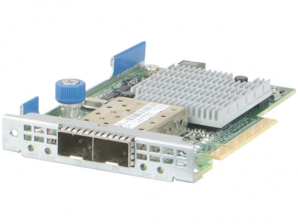 HPE 530FLR 10GbE Dual Port FlexLOM Netzwerkkarte, 647581-B21, 649869-001