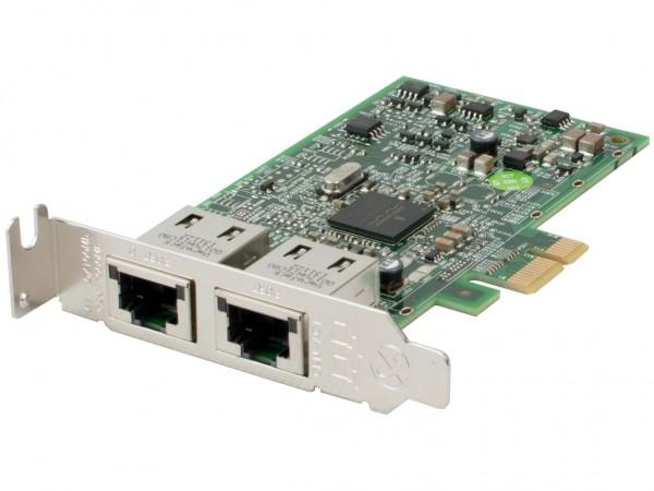 DELL Dual Port 10/100/1000 PCI-E LP Netzwerkkarte / Serveradapter, 0557M9
