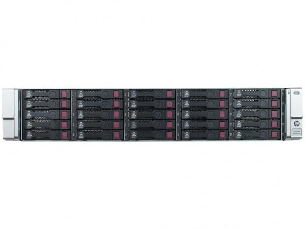 HPE StorageWorks D3700 25x 300GB 6G SAS 10K, 2x Netzteile, QW967A