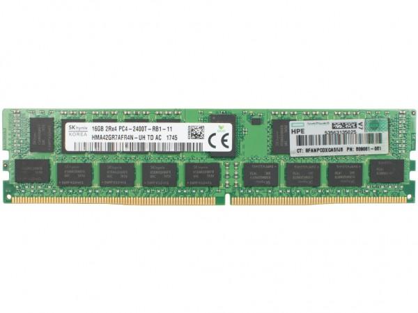 HPE 16GB 2Rx4 PC4-2400T-R Dimm, 836220-B21