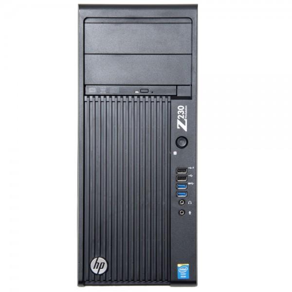 HPE Z230 Workstation, 1x Intel E3-1225v3 4x 3.20GHz, D1P34AV