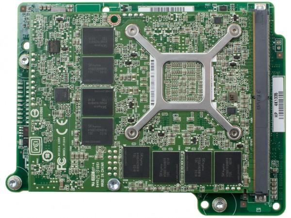 HPE NVIDIA QUADRO 3000M 2GB PCI-E, WS460c Graphics Blade, 679855-B21