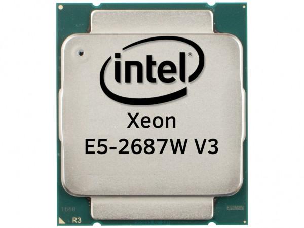 Intel Xeon E5-2687W V3 Ten Core CPU 10x 3.10GHz-25MB Cache FCLGA2011-3, SR1Y6