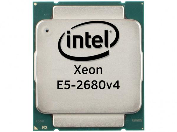 Intel Xeon E5-2680v4 14 Core CPU 2.4GHz, 35MB Cache, SR2N7
