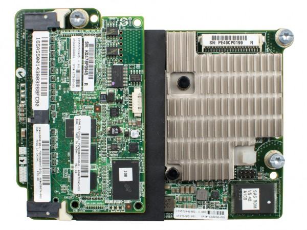 HPE Smart Array P721m/2GB FBWC Module mit Batterie, 650072-B21, 660090-001