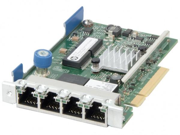 HPE 331FLR 1Gb Quad Port Netzwerkkarte / FlexLOM Adapter, 629135-B21, 634025-001