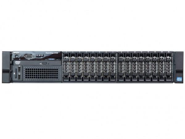Dell R720 2xCPU 16x SFF Server, Base