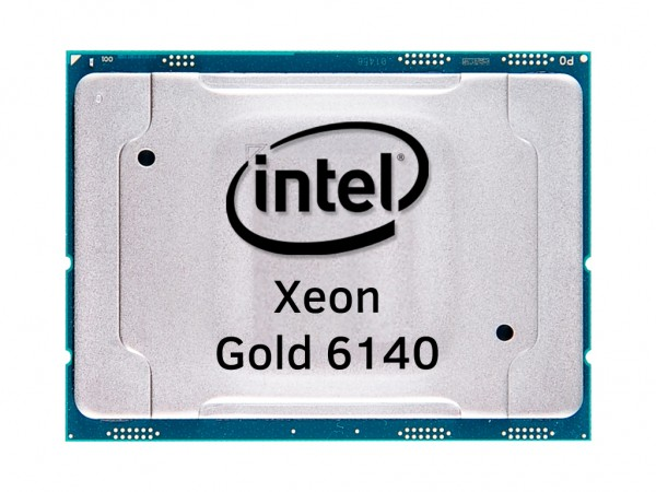 Intel Xeon Gold 6140 18 Core CPU 2.3GHz, 24,75MB Cache, SR3AX