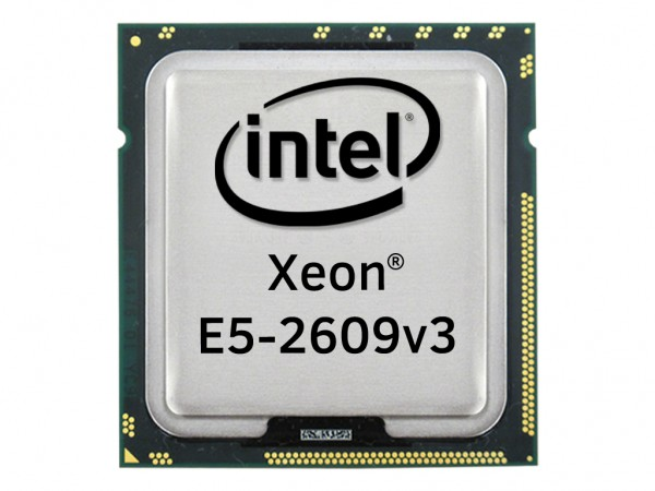 Intel Xeon E5-2609v3 Six Core CPU 6x 1.90 GHz, 15MB Cache, Socket FCLGA2011-3, SR1YC