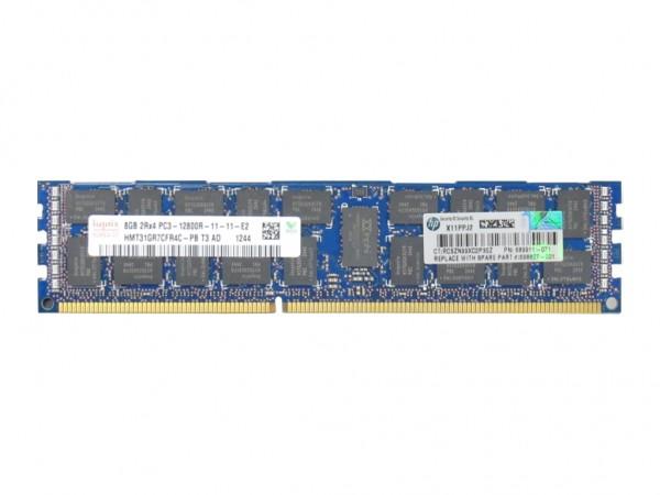 HPE 8GB 2Rx4 PC3-12800R-11 Dimm, 690802-B21