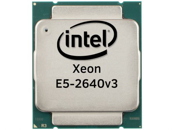 Intel Xeon E5-2640v3 Octa Core CPU 2.6GHz, 20MB Cache, SR205