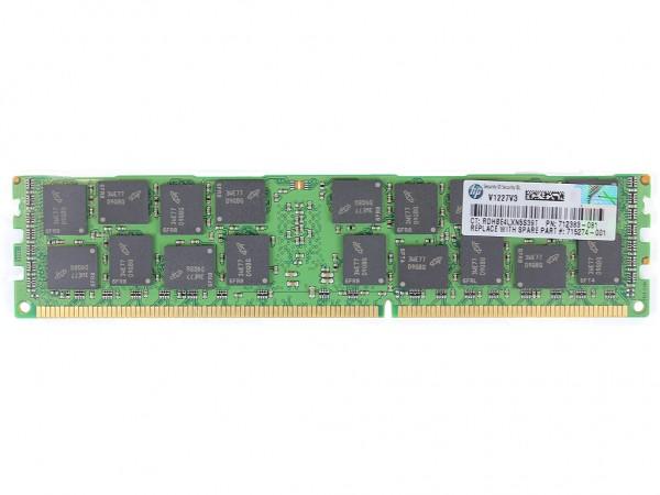 HPE 16GB 2Rx4 PC3-14900R-13 Dimm, 708641-B21 , 712383-081