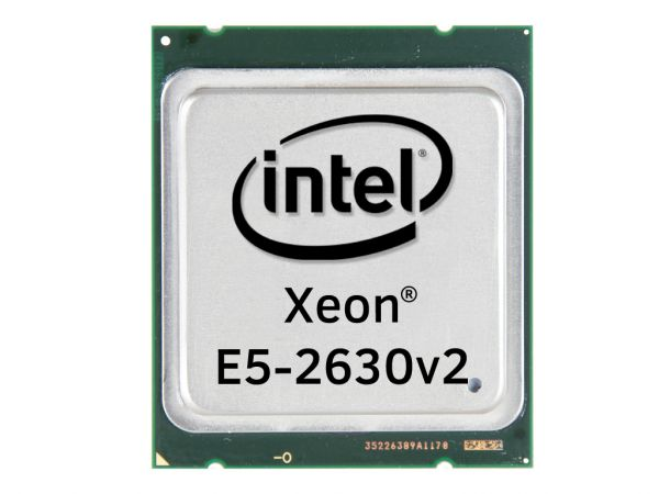 Intel Xeon E5-2630v2 Six Core CPU 6x 2.60GHz-15MB Cache FCLGA2011, SR1AM