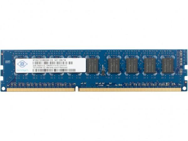 HPE 2GB 1Rx8 PC3L-10600E-9 Dimm, 647905-B21