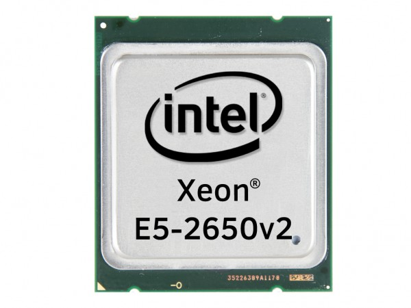 Intel Xeon E5-2650v2 Octa Core CPU 8x 2.60 GHz, 20MB Cache, Socket FCLGA2011, SR1A8