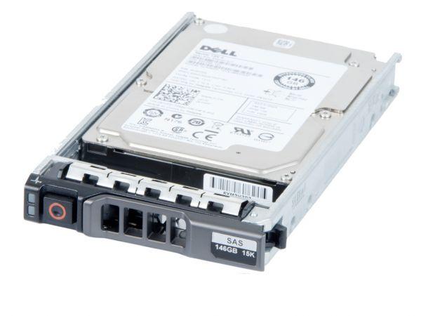 """Dell 146GB 15K 6G SAS 2.5"""" R-Serie DP Hot Swap Festplatte, 061XPF"""