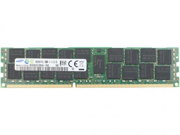 Samsung 16GB 2Rx4 PC3L-12800R-11 Dimm, M393B2G70QH0-YK0