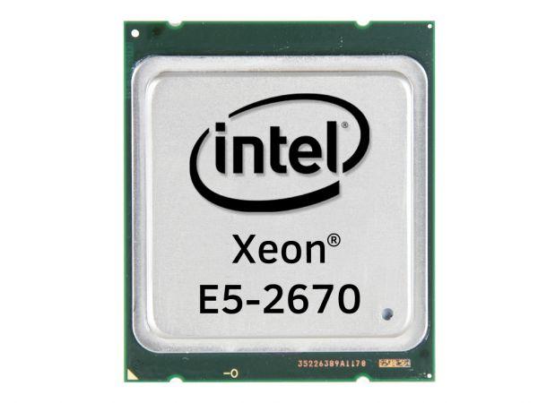 Intel Xeon E5-2670 Octa Core CPU 8x2.60GHz-20MB Cache FCLGA2011, SR0KX