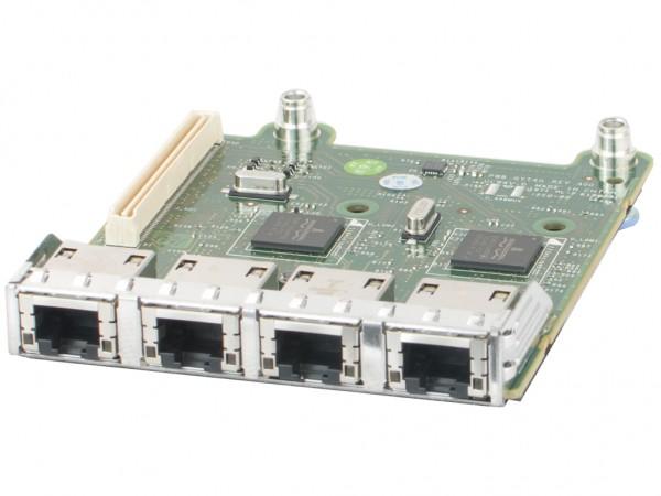 Dell 10/100/1000 Netzwerkkarte Quadport Broadcom 5720 DaughterCard PCI-E Adapter, 0FM487