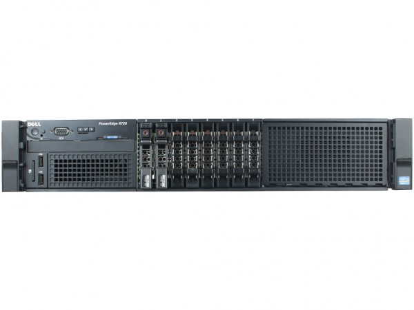 Dell PowerEdge R720 8SFF Server, 2x Intel E5-2680v2 10x 2,80GHz, 128GB RAM, 2x 600GB SAS