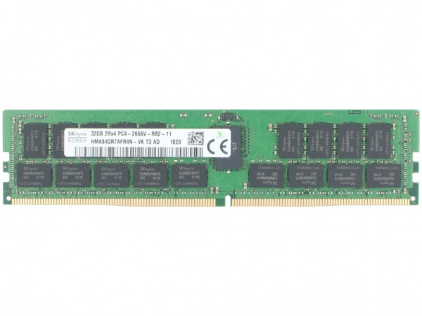 Dell 32GB DDR4 RAM 2Rx4 PC4-2666V-RB2 Dimm, TN78Y