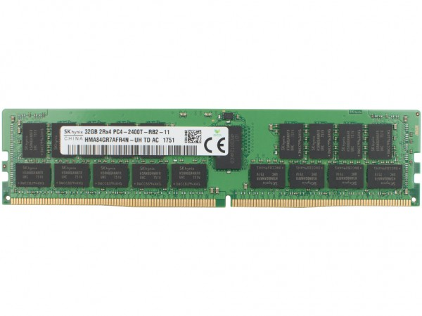 Dell 32GB DDR4 RAM 2Rx4 PC4-2400T-11 Dimm, 0CPC7G