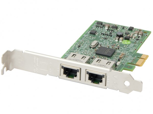 DELL Dual Port 10/100/1000 PCI-E Netzwerkkarte / Server Adapter, 00FCGN