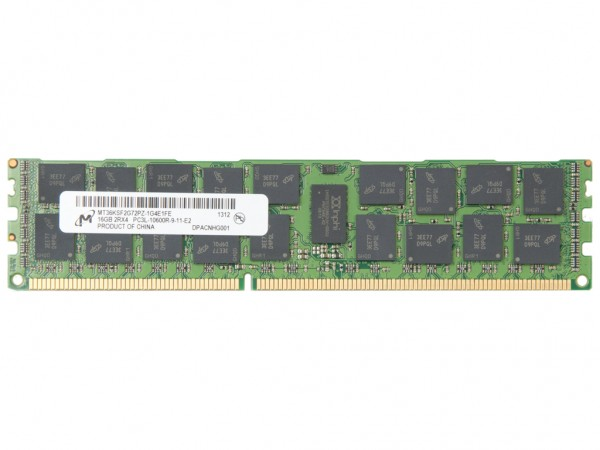 Dell 16GB DDR3 RAM 2Rx4 PC3L-10600R-9 REG Dimm, MGY5T