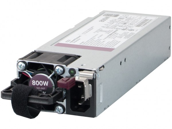 HPE 800W Platinum Low Halogen Netzteil / Power Supply, 866730-001, 865414-B21