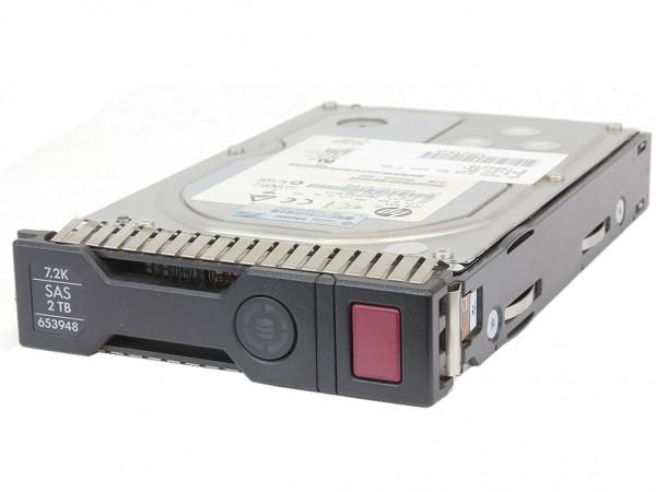 """HPE 2TB 6G 7.2K SAS 3.5"""" DP SC Hot Swap Festplatte, 652757-B21, 653948-001"""
