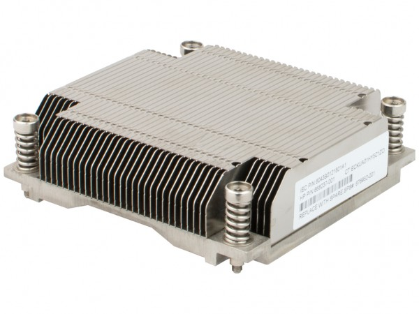 HPE CPU Heat Sink /DL360e-G8, 676952-001