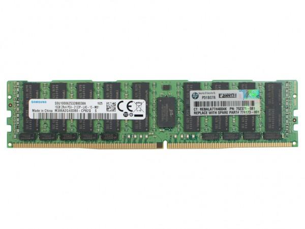 HPE 16GB DDR4 2Rx4 PC4-2133P-L Dimm, 726720-B21, 752371-081, 774173-001