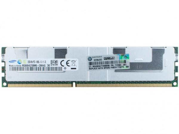 HPE 32GB DDR3 4Rx4 PC3-14900L-13 Dimm, 712384-081, 715275-001