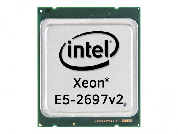 Intel Xeon E5-2697v2 Twelve Core CPU 12x2.70GHz-30MB Cache FCLGA2011, SR19H