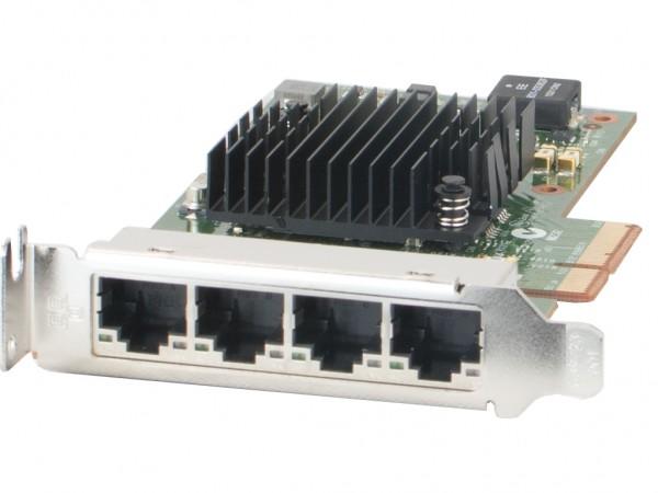 Dell 10/100/1000 Netzwerkkarte Quadport Intel i350-T4 PCI-E Adapter, 0K9CR1