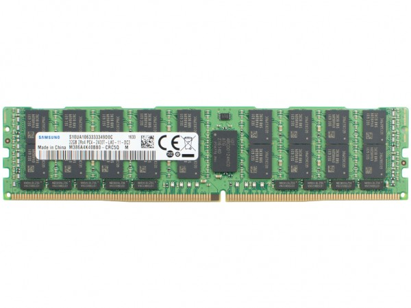 HPE 32GB DDR4 2Rx4 PC4-2400T-L-11 Dimm, 805353-B21, 809084-091, 819414-001