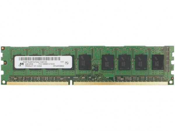 HPE 4GB DDR3 RAM 2Rx8 PC3-10600E-9 Dimm, 500210-571