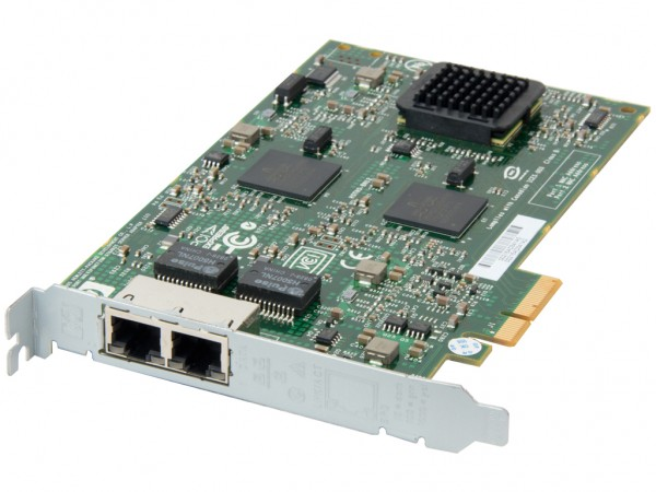HPE Dual Port 10/100/1000 NC380T PCI-E Netzwerkkarte / Server Adapter, 394795-B21