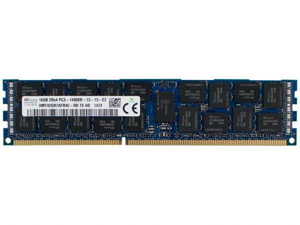 Dell 16GB 2Rx4 PC3-14900R-13 Dimm, 12C23