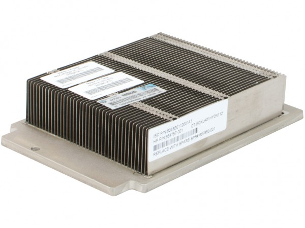 HPE CPU Heat Sink /DL360p-G8, only v1, 654757-001