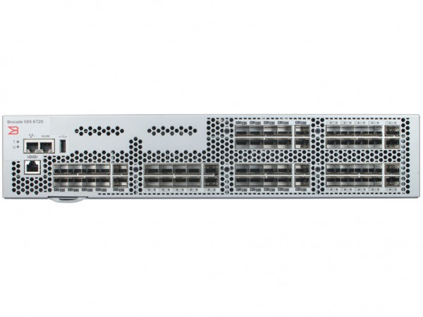 Brocade VDX6720 Switch 60-Port, BR-VDX6720-40-F