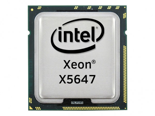 Intel Xeon X5647 Quad Core CPU 4x 2.93 GHz, 12MB Cache, Socket FCLGA1366, SLBZ7
