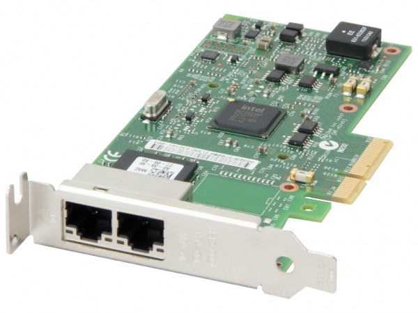 DELL Dual Port 10/100/1000 PCI-E LP Netzwerkkarte / Server Adapter, 0XP0NY