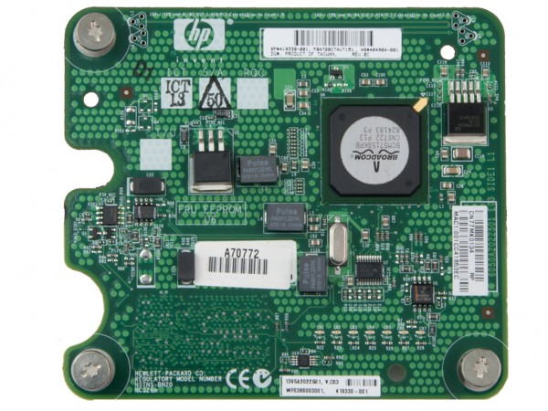 HPE NC326M Dual Port PCI-E Gigabit Netzwerkkarte / Server Adapter, 404984-001, 419330-001