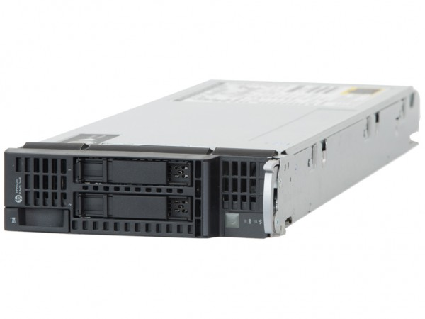HPE ProLiant BL460c Gen8 Server, 2x Intel E5-2690 16x 2.90GHz, 16GB RAM