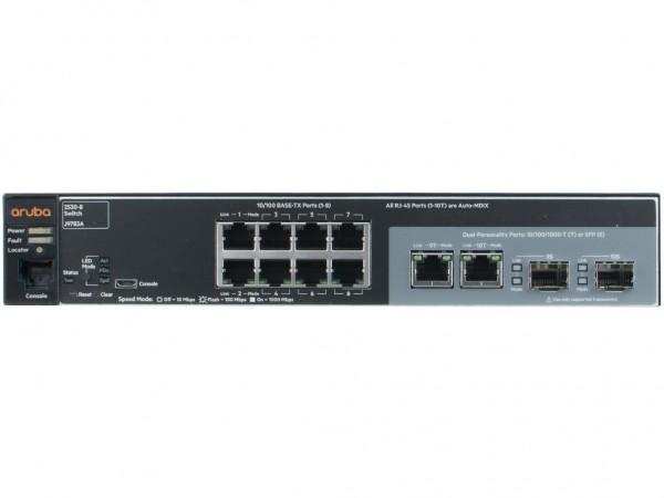 HPE Aruba 2530-8 8x10/100 2x SFP 1P NRK, J9783A