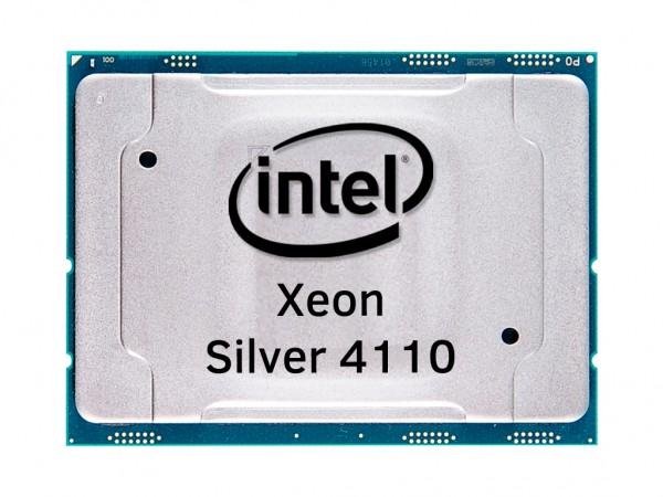 Intel Xeon Silver 4110 Octa Core CPU 2.1GHz, 11MB Cache, SR3GH