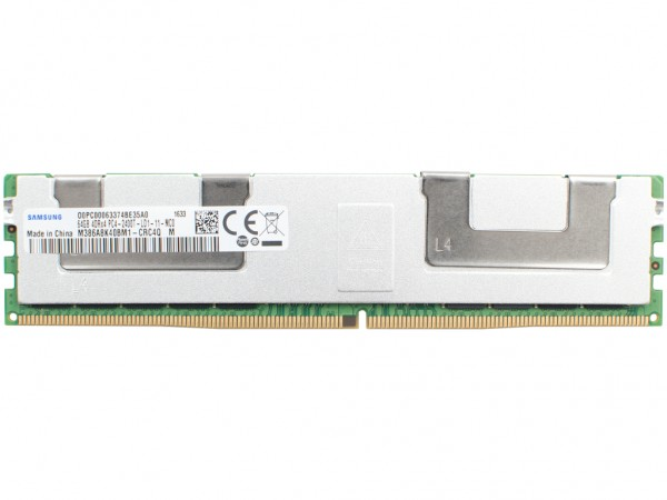 HPE 64GB DDR4 4DRx4 PC4-2400T-L-11 Dimm, 805358-B21, 809085-091